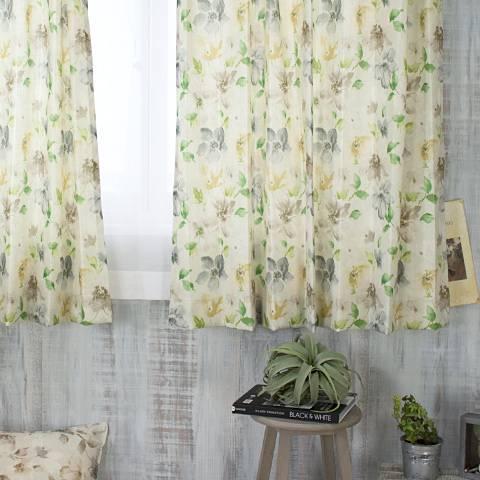 Beekalene インポートカーテン【YH962】ジャルダン